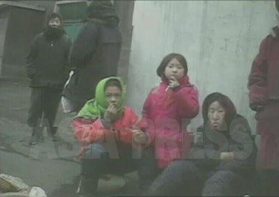 金正日に「異変発生」後、平壌も統制が格段に厳しくなった。(2008年12月後半平壌市大聖(デソン)区域 リ・ソンヒ撮影)