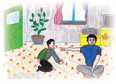 おじさん助けてください 「おじさん、食べるものがなくてやってきました」 「おい、去年はおじと甥(おい)が赤の他人になる年で、今年は兄弟が赤の他人になる年だ。来年は親と子が赤の他人になる年だというのを知らんのか? 出て行け」 食べる物に関しては、すでに親も子も関係ない世になったのに、おじさんをどうして責められるでしょう。 ―キルス