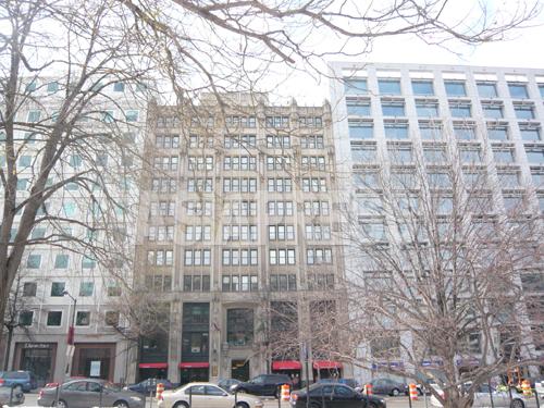 Center for Public Integrityの入居する建物