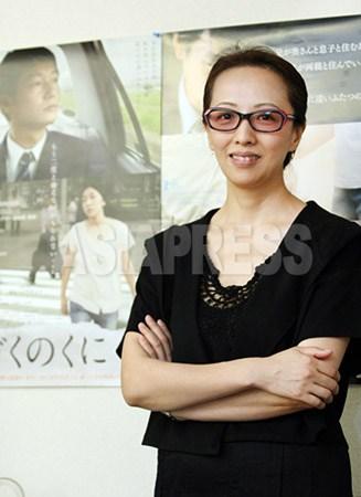 ヤン・ヨンヒ監督(撮影ナム・ジョンハク/アジアプレス)