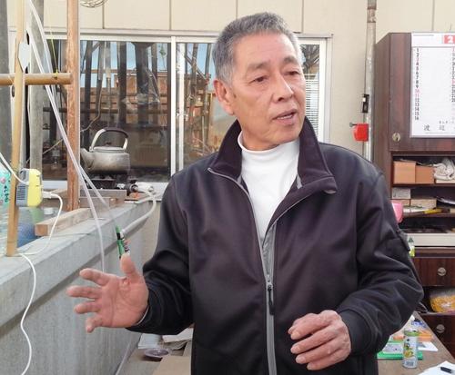 地域の再生を願い「実証実験」に取り組む大沼さん