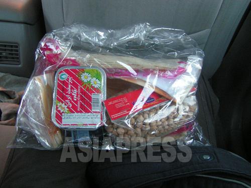 冬至の夜「シャベ・ヤルダー」はイランの伝統行事。この夜配ったナズリー袋は、シャベ・ヤルダーを楽しく過ごしてほしいという思いが込められている。(撮影筆者)