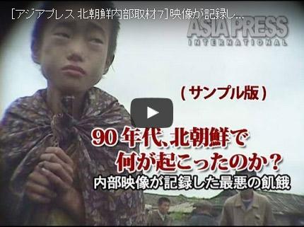 【アーカイブ 動画】 90年代、北朝鮮で何が起こったのか?~内部映像が記録した最悪の飢餓~ (28分)