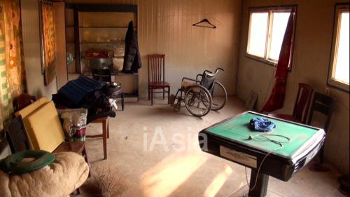 冀の住んでいた山東省の実家の部屋 撮影日は2013年9月17日