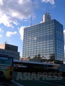 NHK放送センター(東京・渋谷区)【ASIAPRESS/FILE】