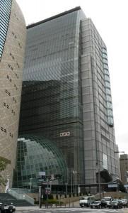 谷町にあるNHK大阪放送局(撮影:うずみ火)