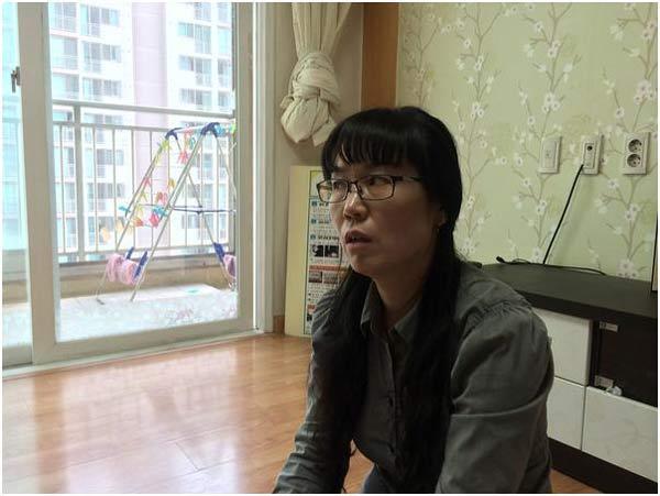 2005年に白血病を発症したキム・ウンギョンさん