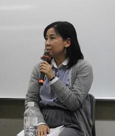 玉本英子氏 ジャーナリスト。アジアプレス所属。イラク、シリアなどを20 年取材。