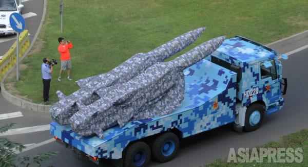 中国軍によれば兵器の8割以上は初公開という