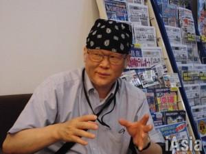神戸学院大の上脇教授 撮影 鈴木祐太