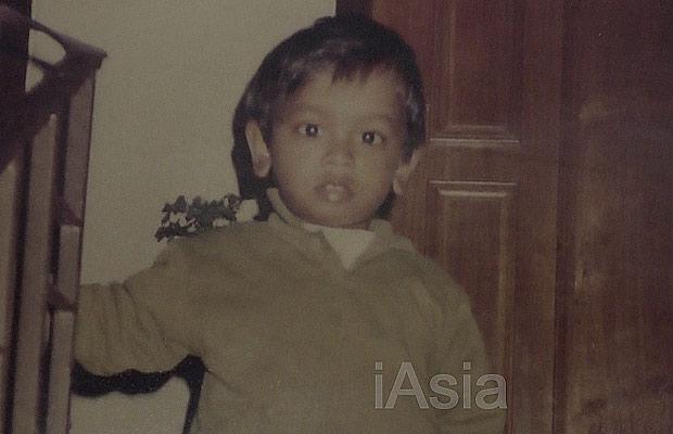 4歳か5歳頃の実行犯のサミー。(家族提供)