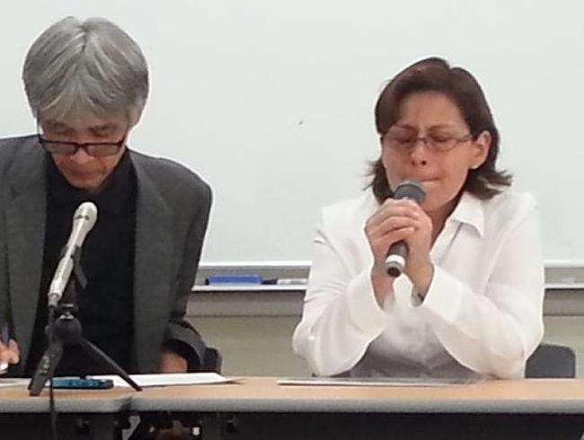 退去命令のペルー人家族が会見「日本生まれの子供だけでも残留認めて」