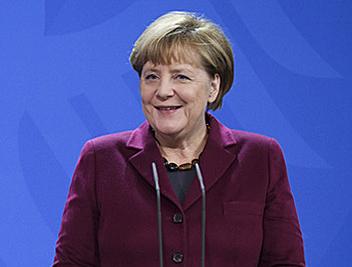 ドイツ首相のアンゲラ・メルケル氏(ドイツ政府のHPより)