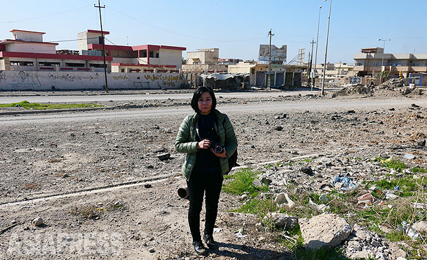 <イラク>IS支配下の2年半とは モスル大学教員に聞く(1)たった数日間の戦闘で町のすべてを支配(写真7枚)
