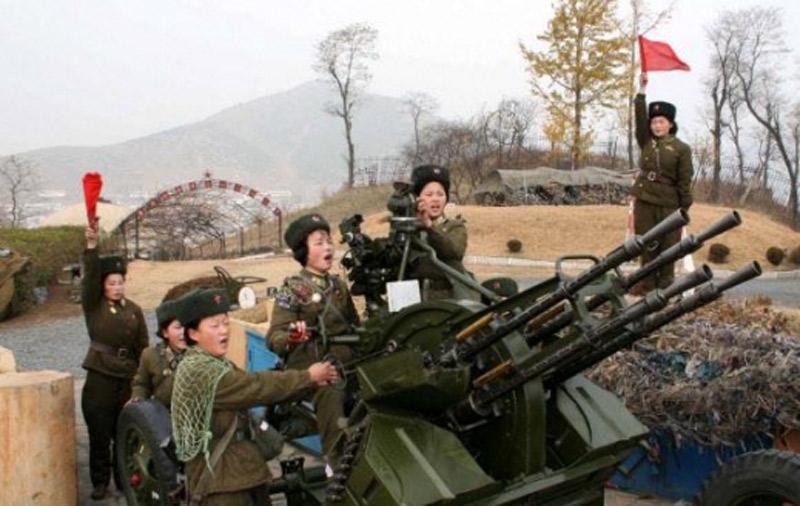 <北朝鮮>ドローンに怯える金正恩政権が撃墜訓練始める 暗殺、空撮、情報散布を警戒