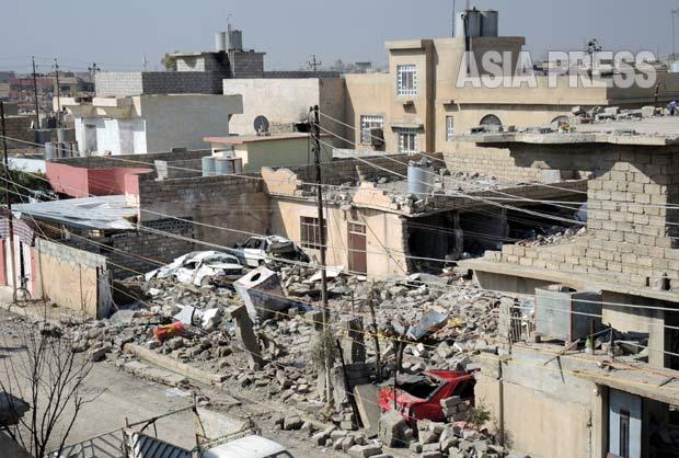 <イラク最新報告>モスルのイスラム教徒が、ISに拉致の女性の脱出手助け(写真2枚)