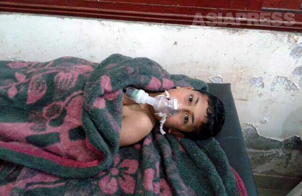 <シリア>イドリブ県での化学兵器攻撃~現地病院医師が惨状伝える