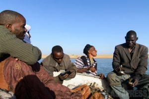 穏やかなニジェール川の旅(マリ)<ひと握りのアフリカ –1>