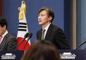 攻勢強める韓国検察 チョ・グク法相の娘を事情聴取 妻の公訴状には「娘の進学のため偽造」と明記