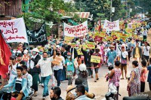 <ミャンマー>反国軍不服従運動 参加する現地公務員に聞く(写真3枚)赤津陽治