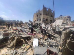 <イスラエルが空爆>「攻撃絶えず 食料も水もない」パレスチナ・ガザ住民の訴えを聞く (写真6枚)