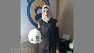 <シリア>ホワイトヘルメットの女性隊員 「たくさんの死を見てきた」市民救護の最前線で(写真11枚)