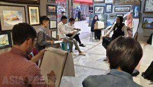 <アフガニスタン>タリバン首都へ カブールの芸術家「どこへ逃げれば」