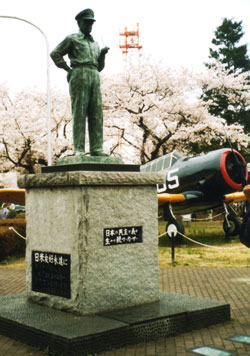 マッカーサーの銅像
