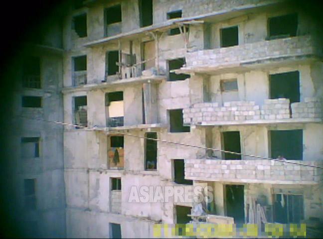 【北朝鮮 写真特集】秘密撮影した平壌の建設現場の実態