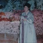 영화에서 공개된 육성은 고영희가 자신의 50세 생일(2002년 6월 26일)에 연설한 것으로 설명된다.