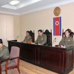 2013년 12월12일 장성택에 대한 국가안전보위부의 특별군사재판 (조선중앙통신에서 인용)