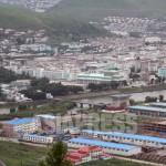 강 건너편이 북한의 양강도 혜산시