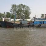 (참고사진) 평안북도의 항구에 계류된 북한의 목조 어선. 2011년 5월 촬영 이진수
