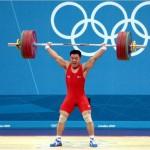 """2012년 런던 올림픽 남자 역도 62kg 급에서 북한의 김은국 선수가 세계신기록으로 금메달을 따내는 기염을 토했다. (""""우리민족끼리""""에서 인용)"""