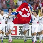 2015년 8월, 동아시안컵 대회에서 우승한 북한 여자 축구 팀 선수들 ('우리민족끼리'에서 인용)