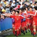 2015년 8월, 동아시아컵 대회에서 우승한 북한 여자 축구 팀 선수들 ('우리민족끼리'에서 인용)