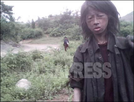 "This 23 year-old homeless woman was found dead in a corn field in October, 2010. She died of starvation. Reporter Kim Dong-cheol tells us that ""the number of homeless and suicides have greatly increased since the 2009 currency reform."" This video was taken in June 2010. (Video image by Kim Dong-cheol/South Pyongan Province, North Korea, ASIAPRESS)"